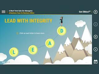 Got <u>Ethics</u>?® A Short Term Gain (for Managers)