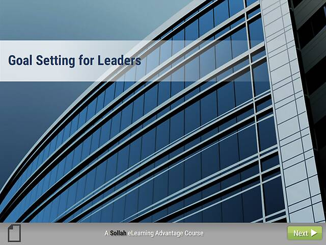 Goal Setting for Leaders