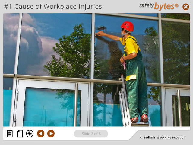 SafetyBytes® - Ladder Safety