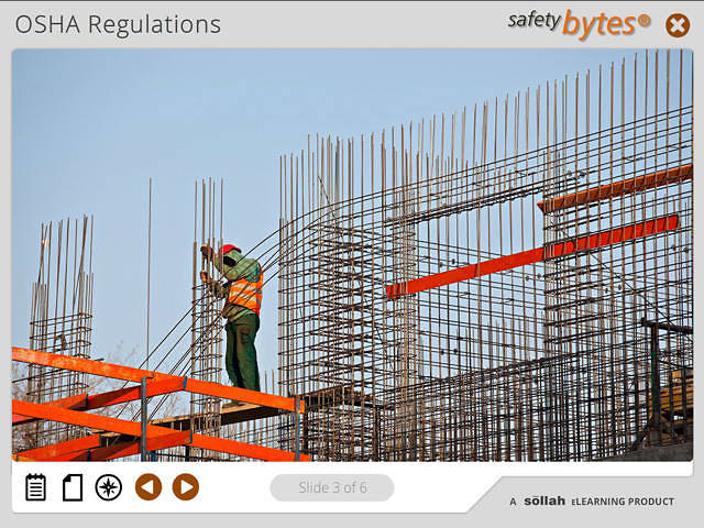 SafetyBytes® - Fall Protection Plan - Work Practices