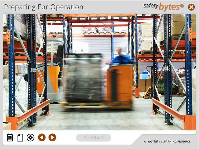 SafetyBytes® - Safe Pallet Mover Operation