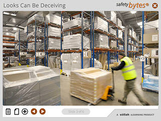 SafetyBytes® - Common Pallet Mover Hazards