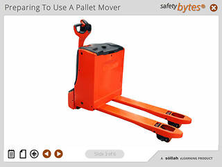 SafetyBytes® - Pre-Inspection Of Powered Pallet Movers