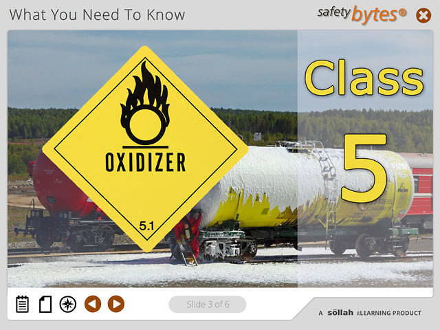 SafetyBytes® - Hazard Class 5 - Oxidizers and Organic Peroxides