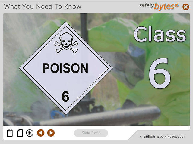 SafetyBytes® - Hazard Class 6 - Poisonous and Infectious Agents