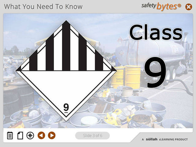 SafetyBytes® - Hazard Class 9 - Miscellaneous Hazardous Materials