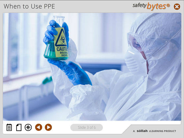 SafetyBytes® - Bloodborne Pathogens The Proper Use of PPE