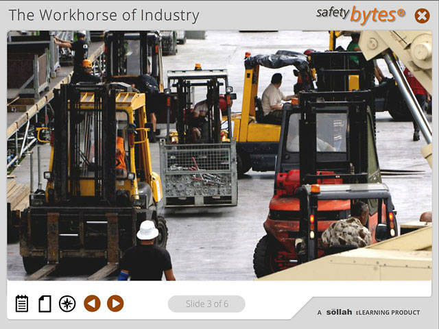 SafetyBytes® - Forklift Stability (Center of Gravity)