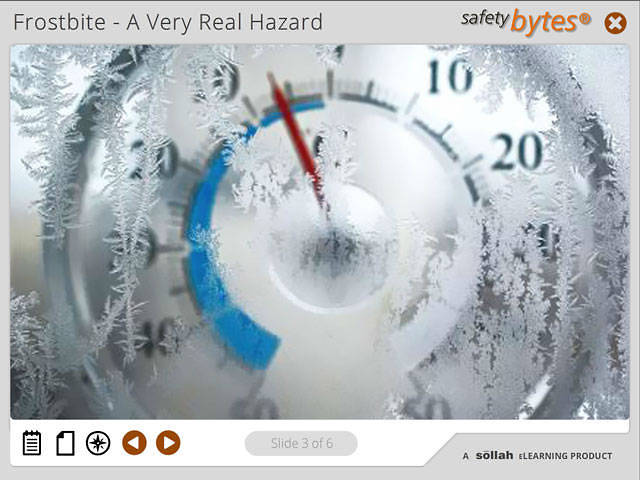 SafetyBytes® - Frostbite An Overview