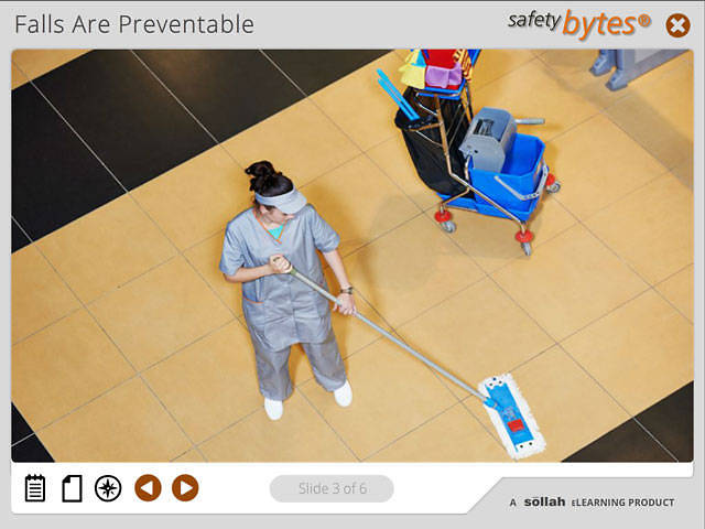 SafetyBytes® - Preventing Falls - General Guidelines