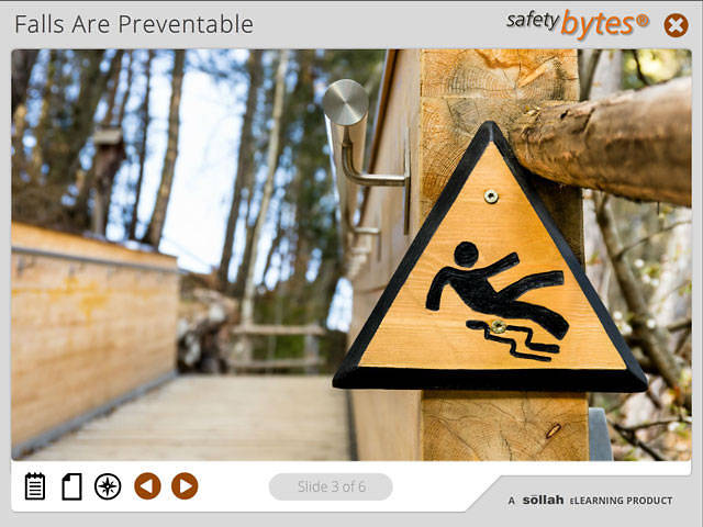SafetyBytes® - Preventing Falls on Slippery Surfaces