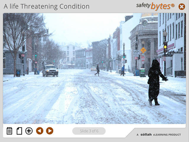 SafetyBytes® - The Stages of Hypothermia