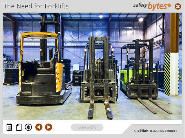SafetyBytes® - Types of Forklifts