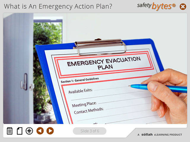 SafetyBytes® - Ammonia Release Action Plan