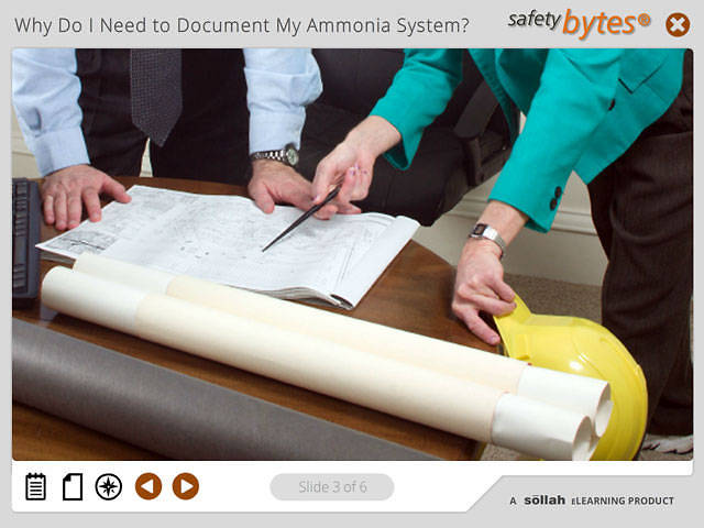 SafetyBytes® - Documenting Your Ammonia System
