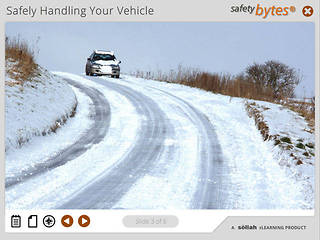 SafetyBytes® - Laws of Physics and Winter Driving