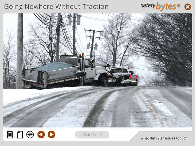 SafetyBytes® - Traction and Control of Your Vehicles