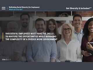 Got <u>Diversity</u> & Inclusion?™ Rethinking Racial <u>Diversity</u> (for Employees)