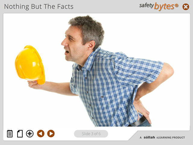 SafetyBytes® - Basic Facts About Back Injuries