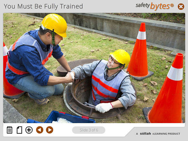 SafetyBytes® - Safe Work Within a Confined Space