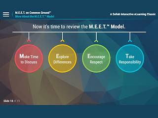 M.E.E.T. on Common Ground™: Speaking Up for Respect in the Workplace