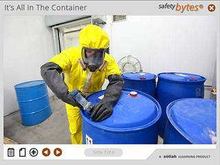 SafetyBytes® - Hazardous Waste Containers