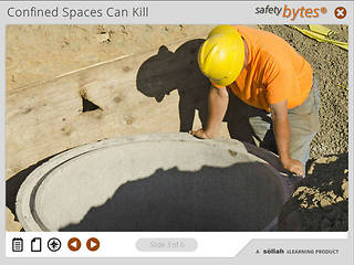 <u>Safety</u>Bytes® - Preparing for Confined Space Entry
