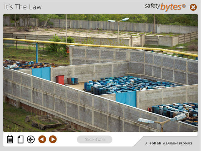 SafetyBytes® - Working With Hazardous Waste