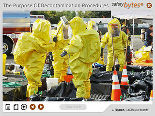 <u>Safety</u>Bytes® - Decontamination The Hot Zone and Procedures