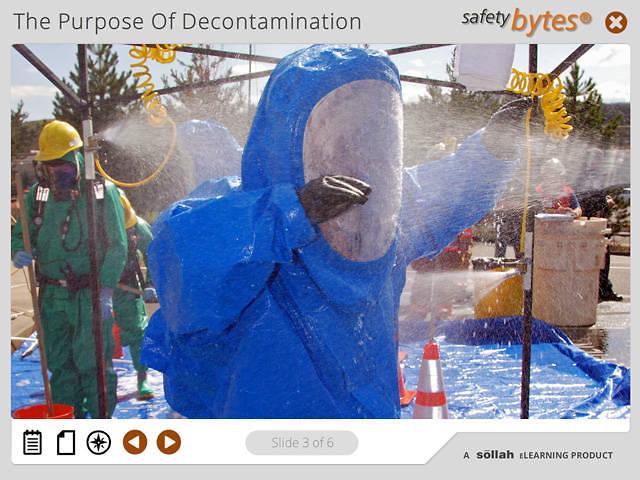 SafetyBytes® - Decontamination Work Zones or Boundaries