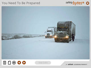 <u>Safety</u>Bytes® - Truck Tire Chaining - Chain Repair