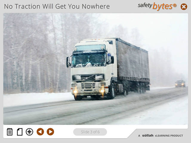 SafetyBytes® - Truck Tire Chaining - The Block Method