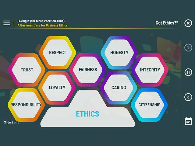 Got Ethics?® Faking It (for More Vacation Time)