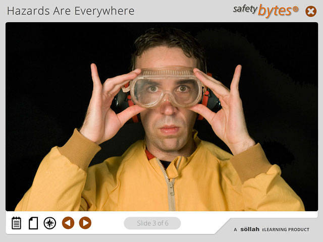 SafetyBytes® - PPE: Using Your Eye Protection