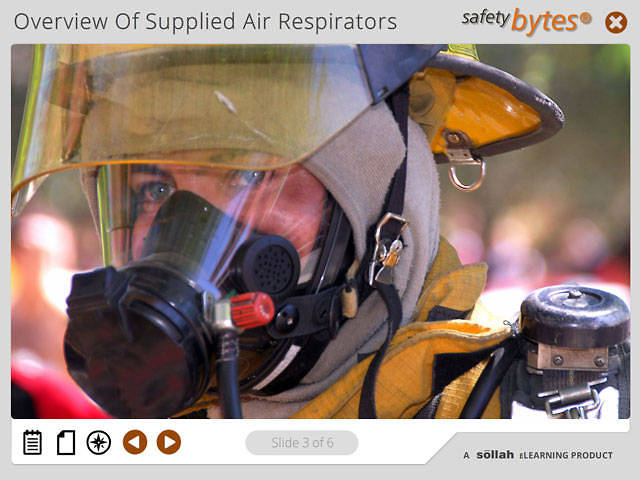 SafetyBytes® - Overview of Supplied Air Respirators