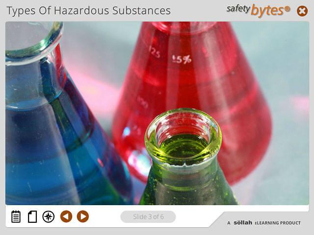 SafetyBytes® - HazCom: Types Of Hazardous Substances