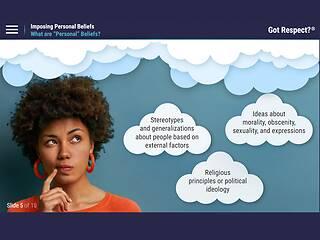 Got Respect?™ Imposing Personal Beliefs