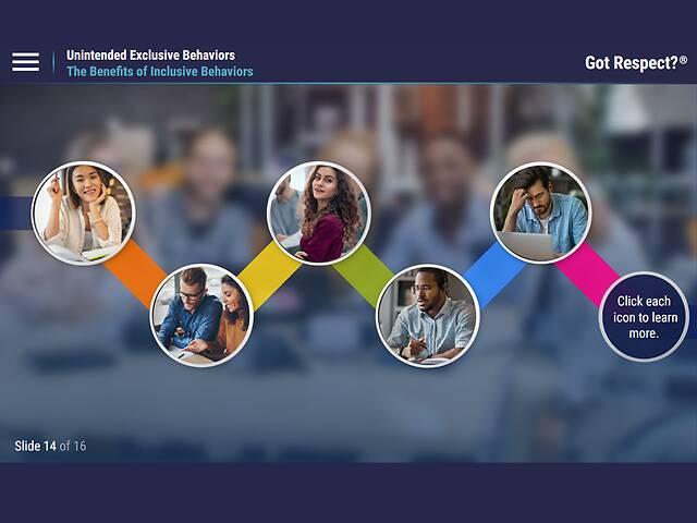 Got Respect?® Unintended Exclusive Behaviors