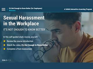 <u>Sexual Harassment</u>… It's Not Enough to Know Better (For Employees)