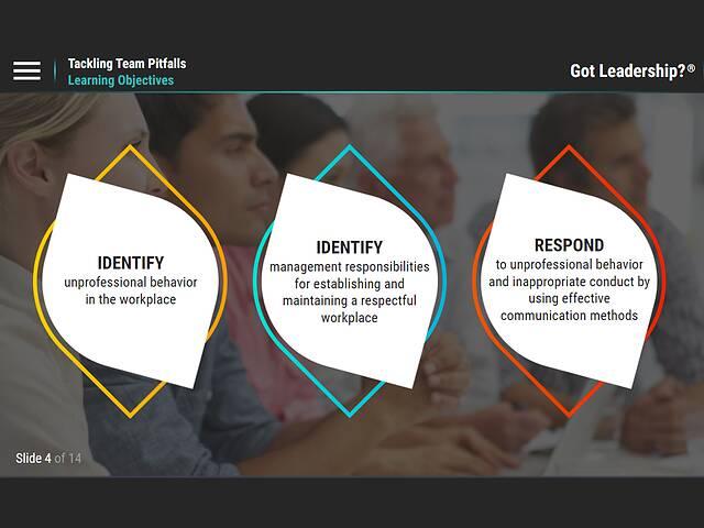 Got Leadership?™ Tackling Team Pitfalls