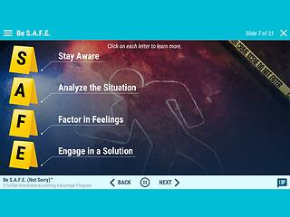 Be S.A.F.E. (Not Sorry)™: An Advantage eLearning Course