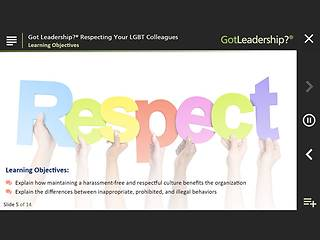 Got Leadership?™ Respecting Your LGBT Colleagues