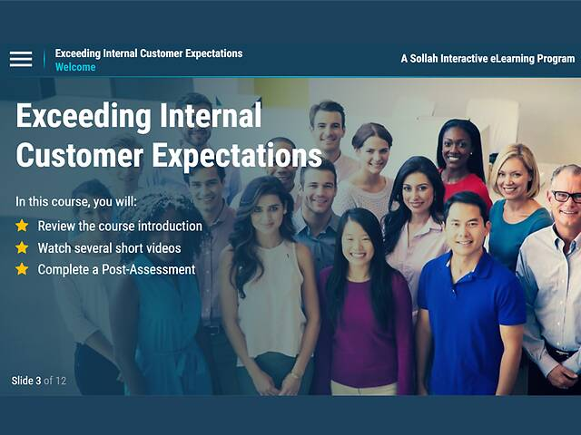 Exceeding Internal Customer Expectations