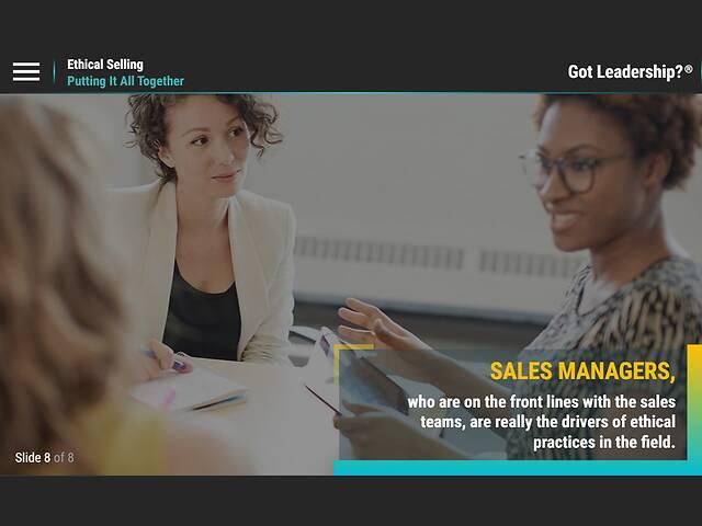 Got Leadership?™ Ethical Selling