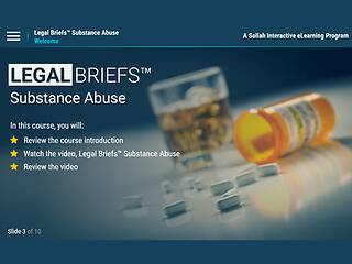 Legal Briefs <u>Substance Abuse</u>: The Manager's Role in Creating & Maintaining a Drug-free Workplace