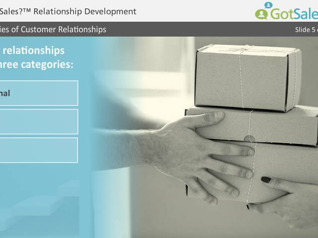 Got Sales?™ Relationship Development