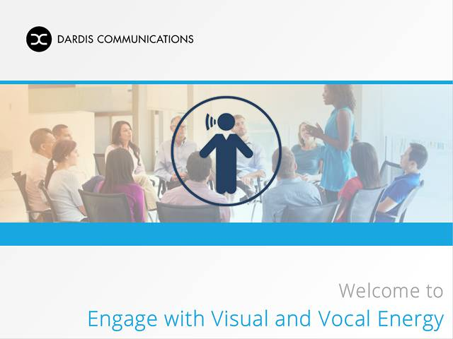 Engage with Visual and Vocal Energy