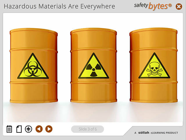 SafetyBytes® - DOT HAZMAT Warning System