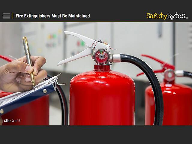 SafetyBytes® Fire Safety: Fire Extinguisher Overview