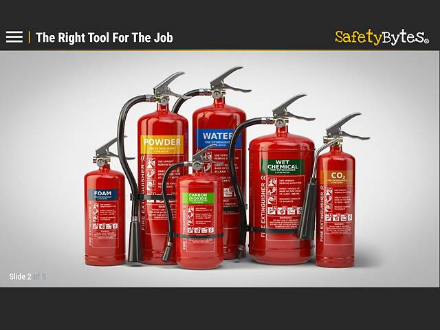 SafetyBytes® Fire Safety: Fire Extinguishers